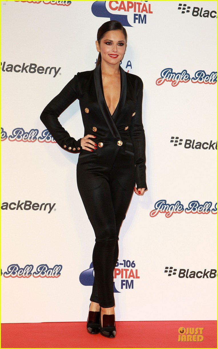 cheryl cole jingle bell ball attendee 10