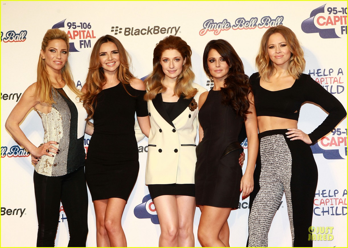 cheryl cole jingle bell ball attendee 21