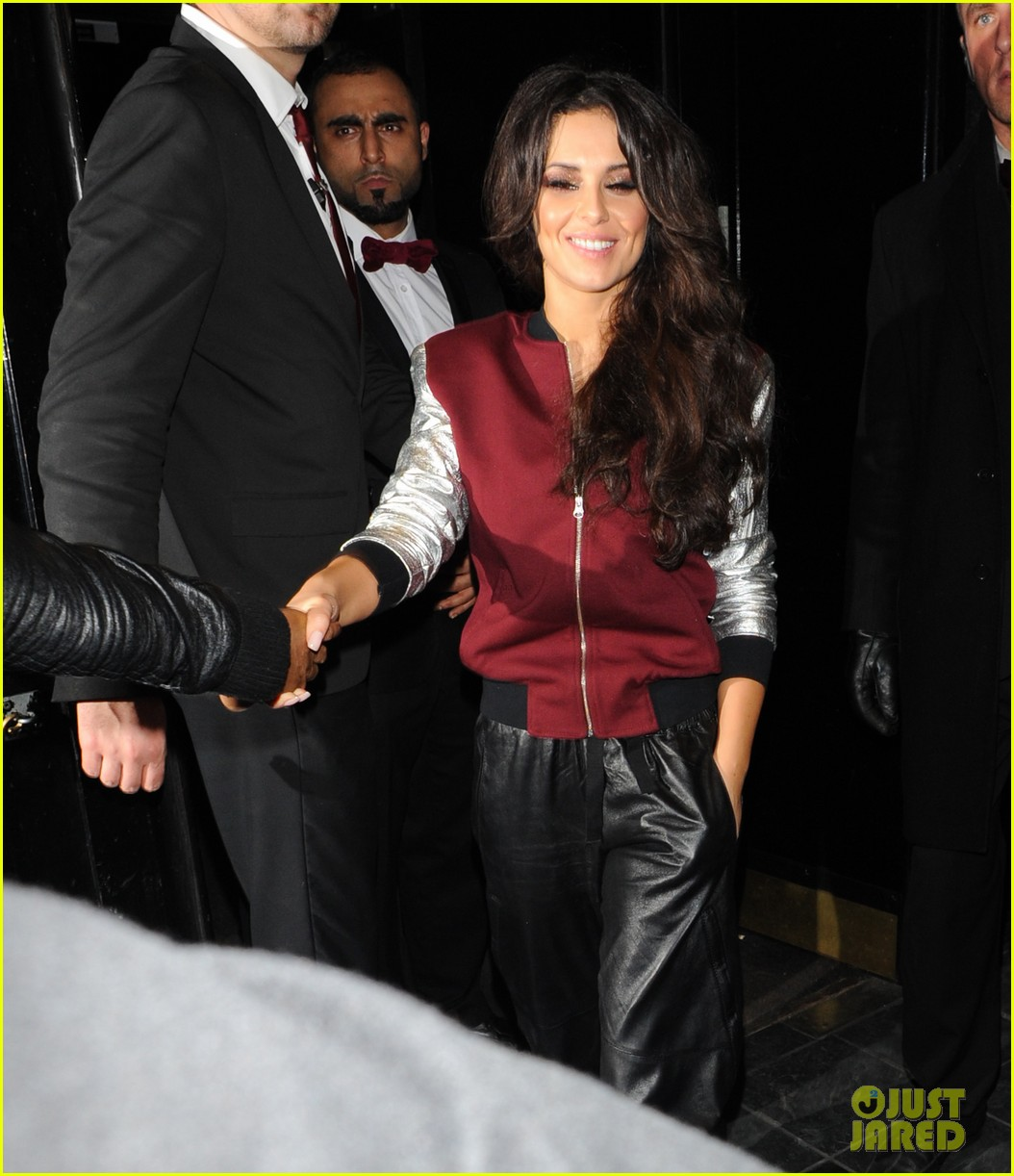 cheryl cole tre holloway rose club lovers 09