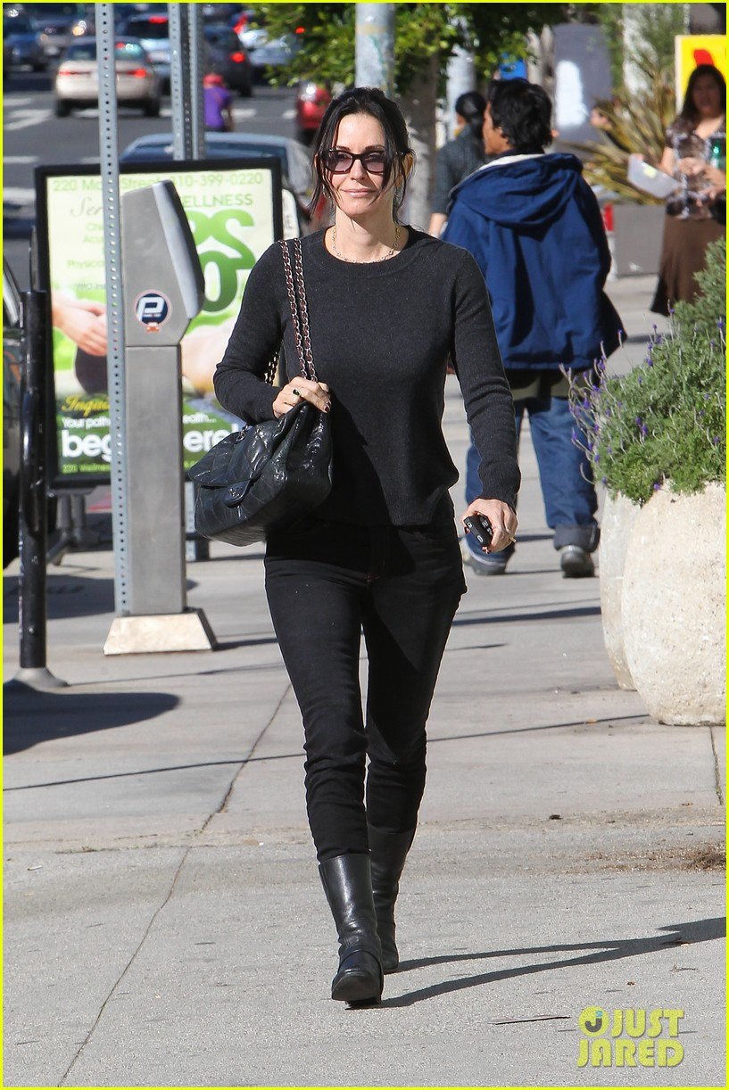 courteney cox cougar town filming 04