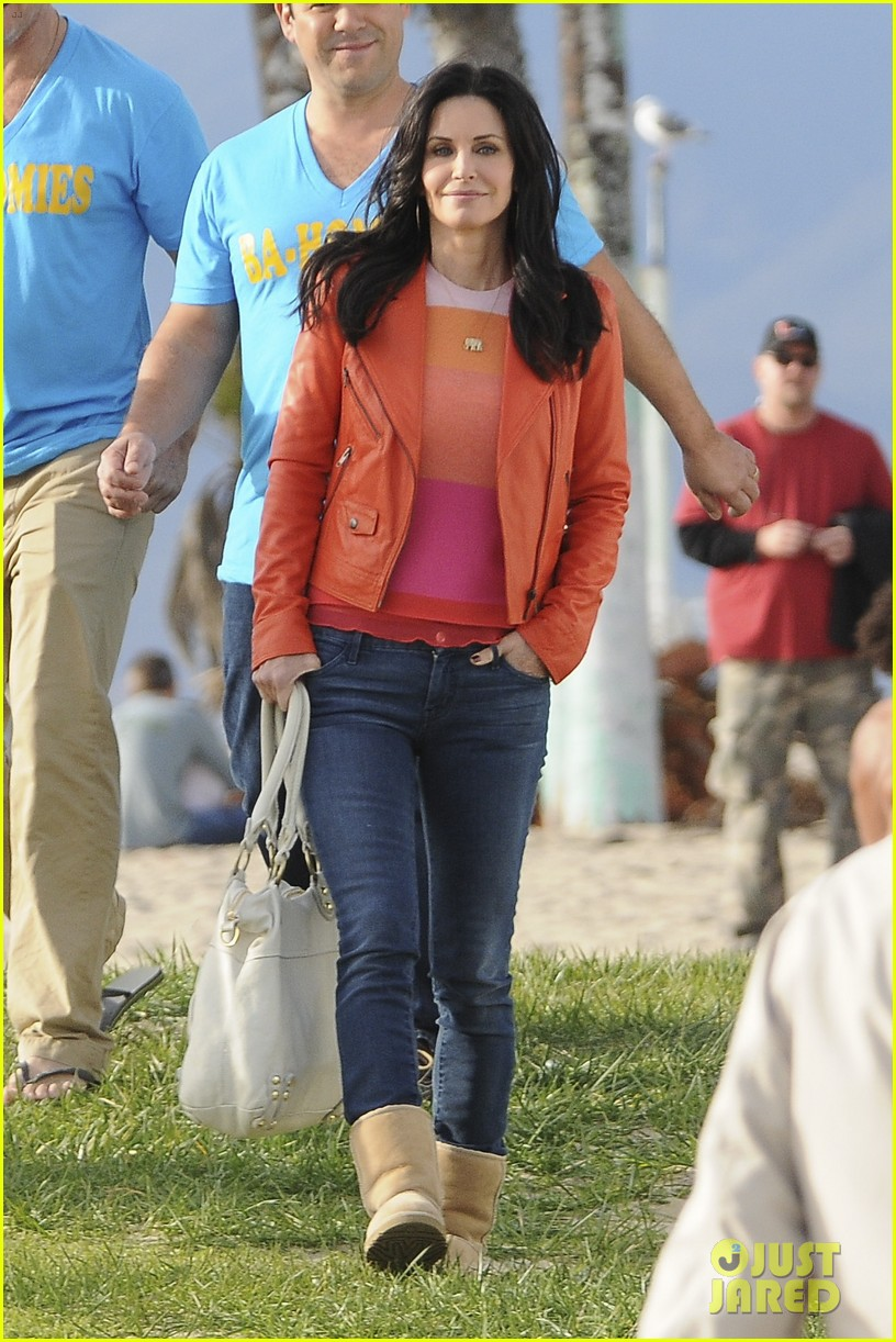courteney cox cougar town filming 162779463