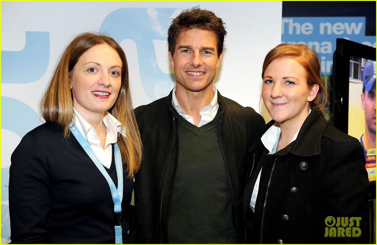 tom cruise jack reacher promotion at the manchester derby 022772404