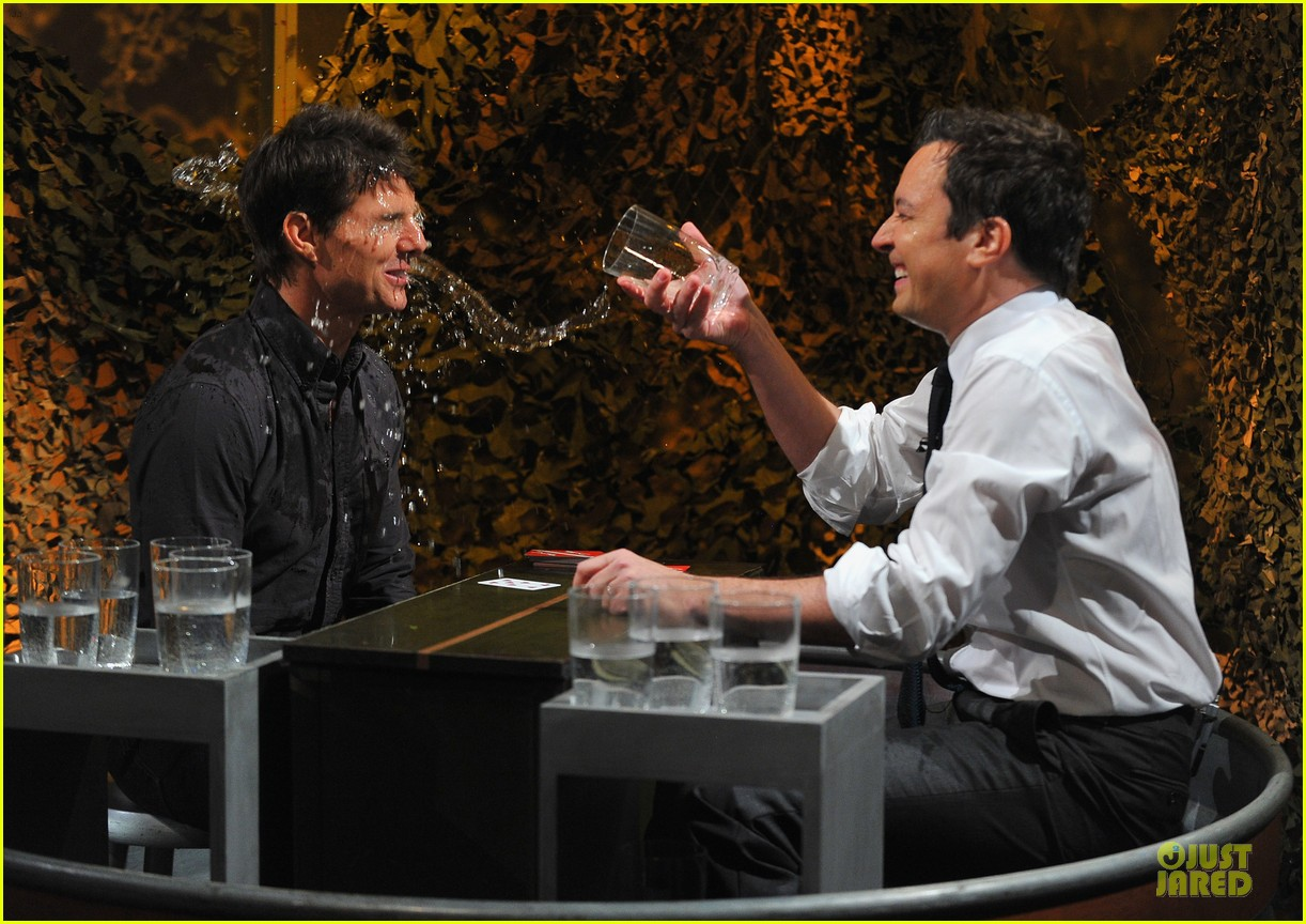 tom cruise water war with jimmy fallon 09