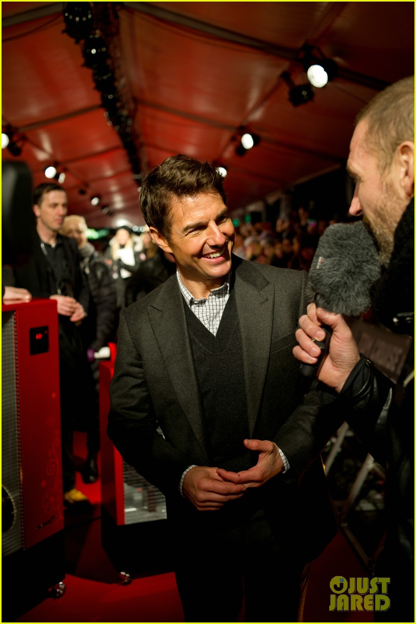 tom cruise jack reacher stockholm premiere 12