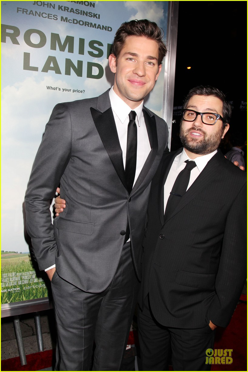 matt damon john krasinski promised land new york premiere 072769404