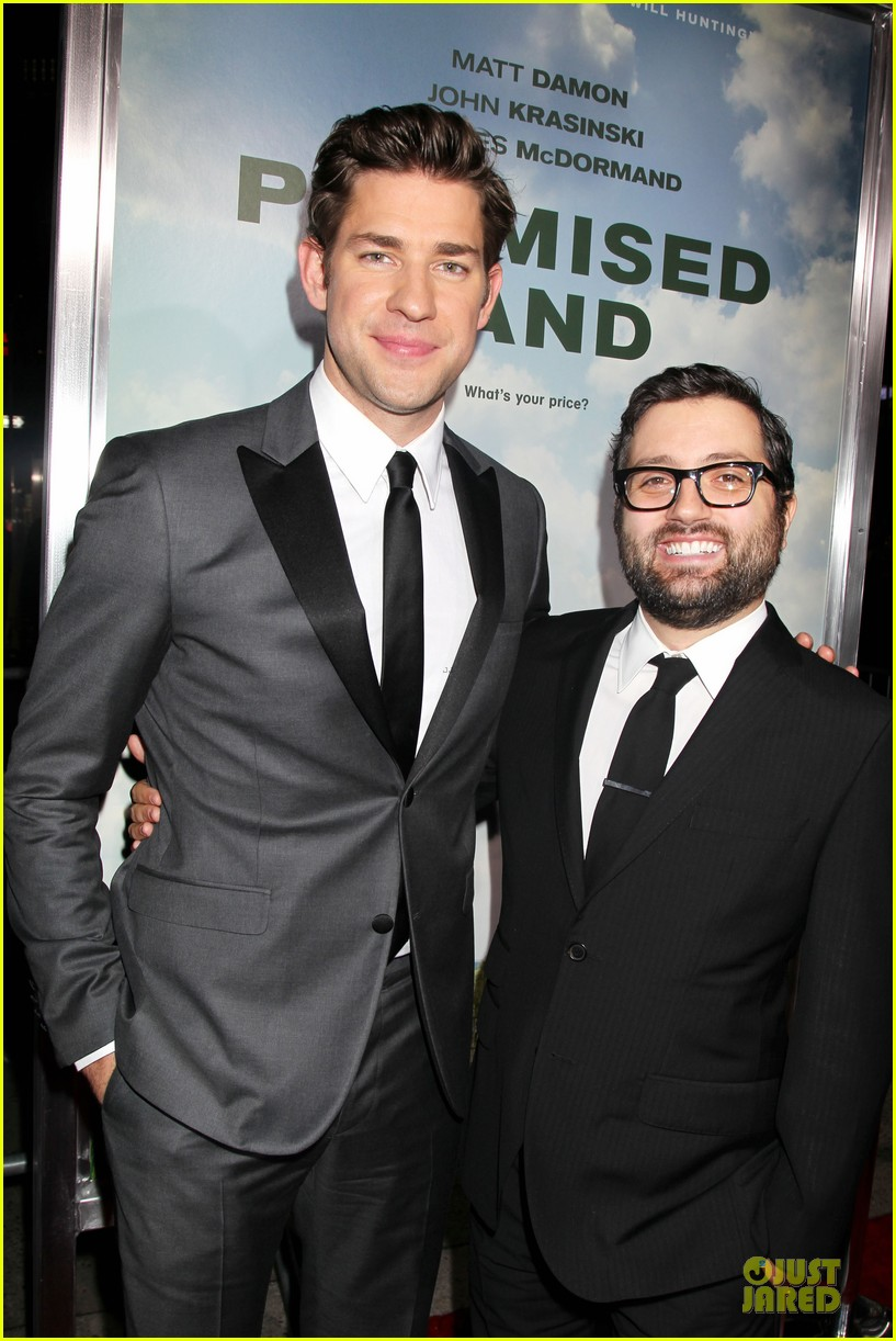 matt damon john krasinski promised land new york premiere 08