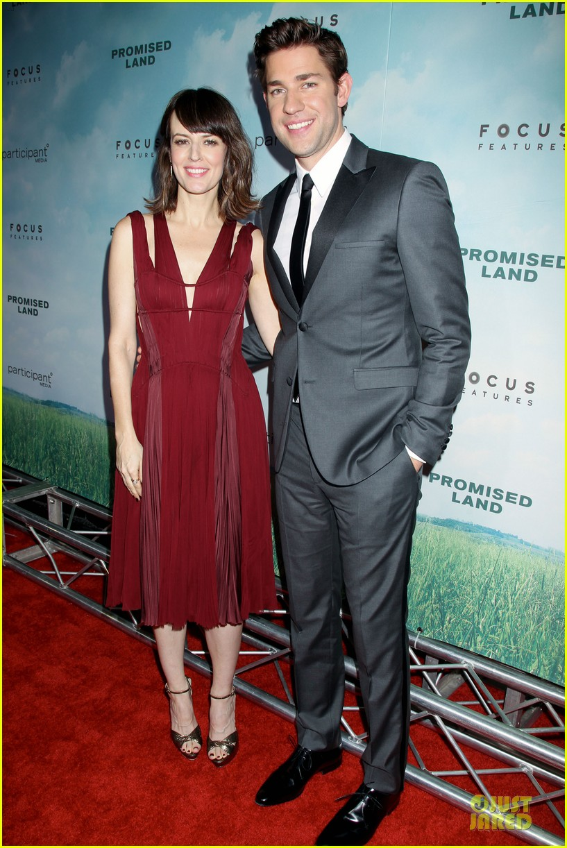matt damon john krasinski promised land new york premiere 13