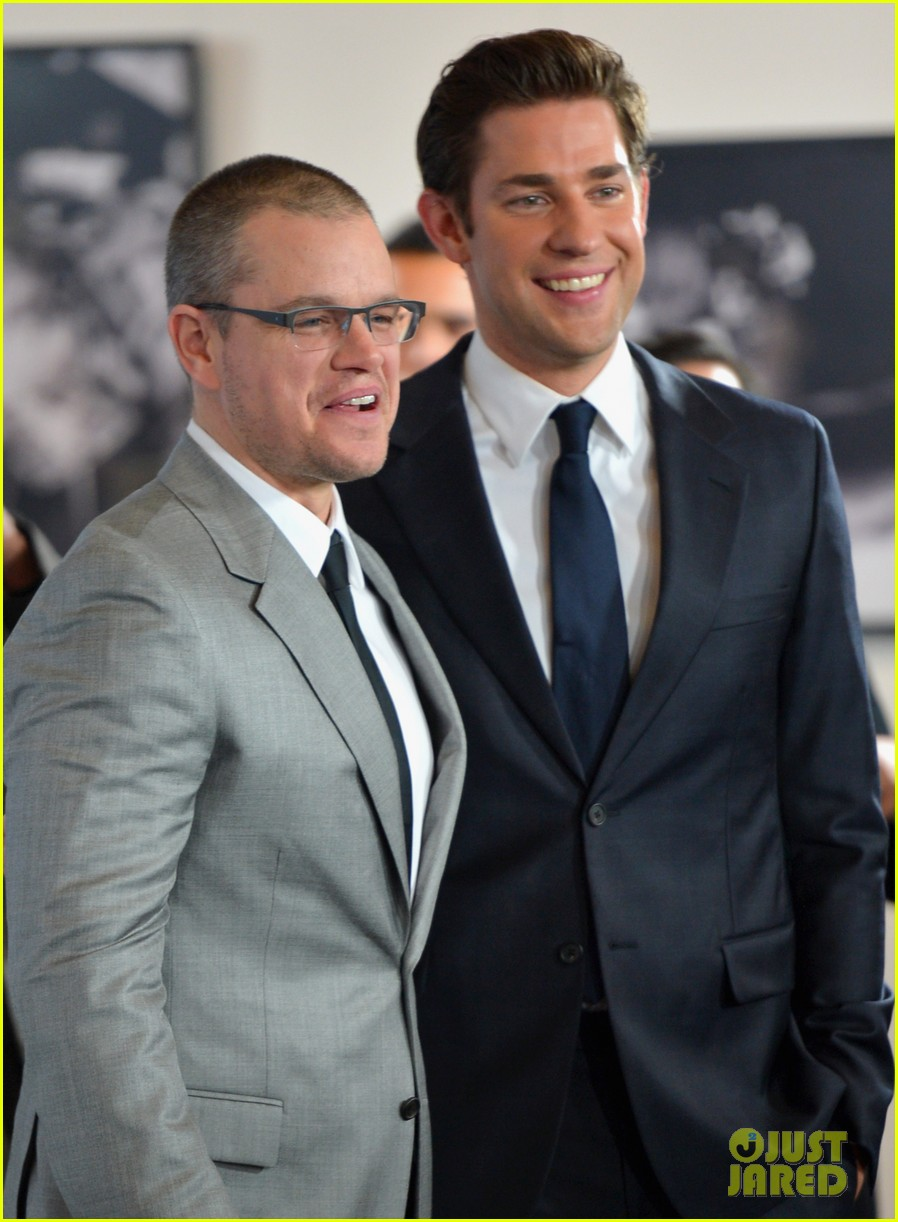 matt damon john krasinski promised land premiere 082771072