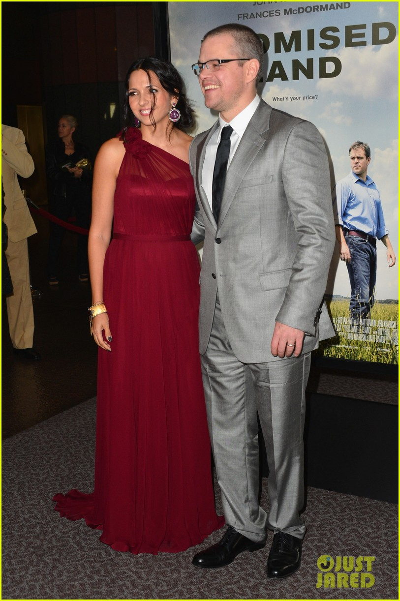 matt damon john krasinski promised land premiere 23