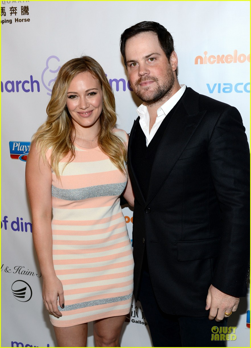 hilary duff mike comrie march of dimes 2012 132771454