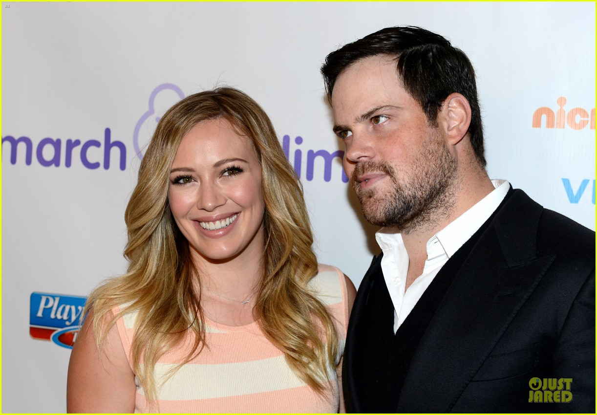 hilary duff mike comrie march of dimes 2012 14
