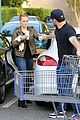 hilary duff & mike comrie grocery store kisses for luca 03
