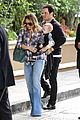 hilary duff matching outfit for lunch 01