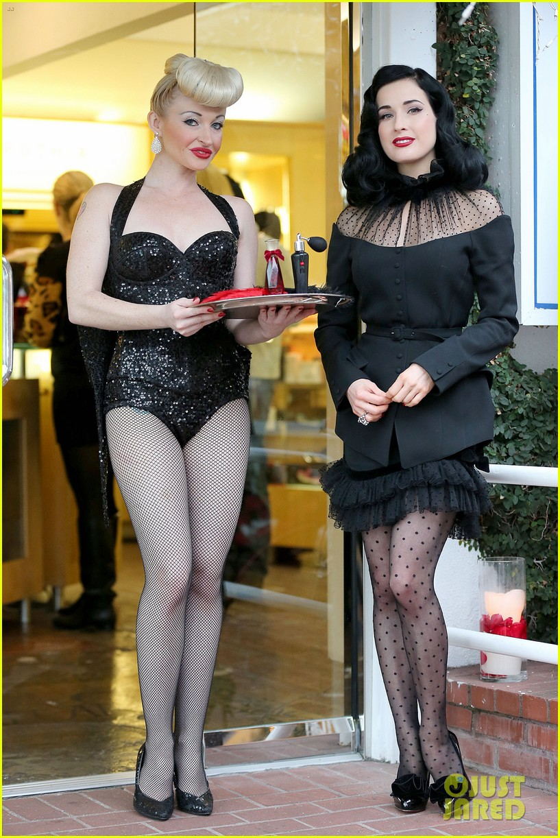 dita von teese rouge perfume launch 142776658