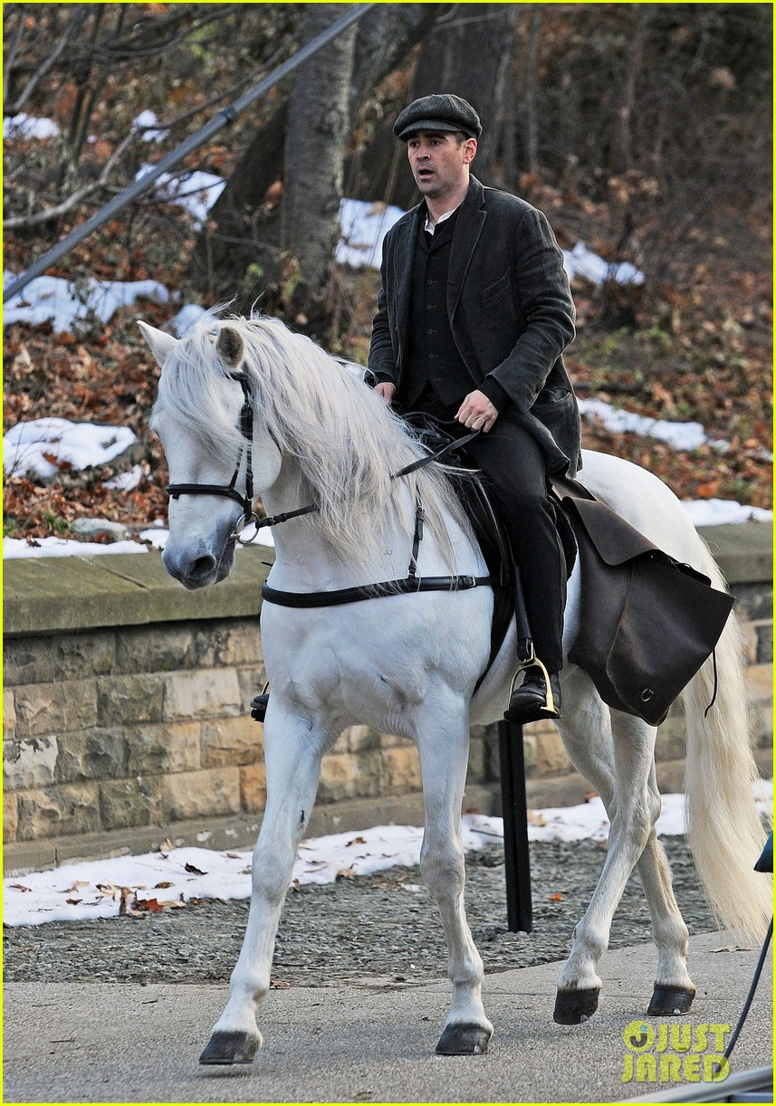 colin farrell horseback riding 26