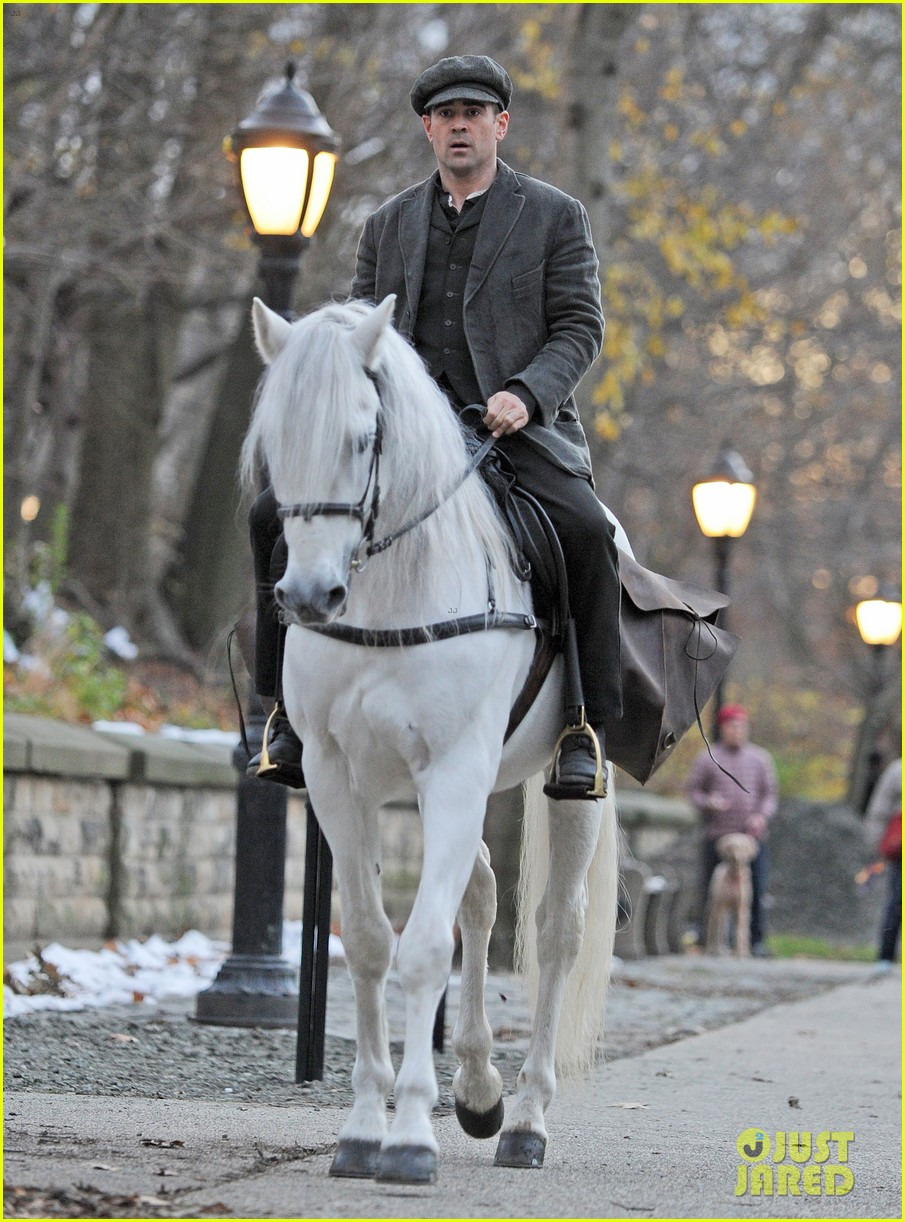 colin farrell horseback riding 352770601