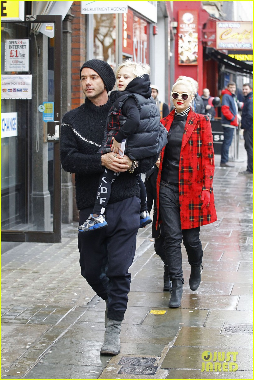 gwen stefani gavin rossdale london family outing 04