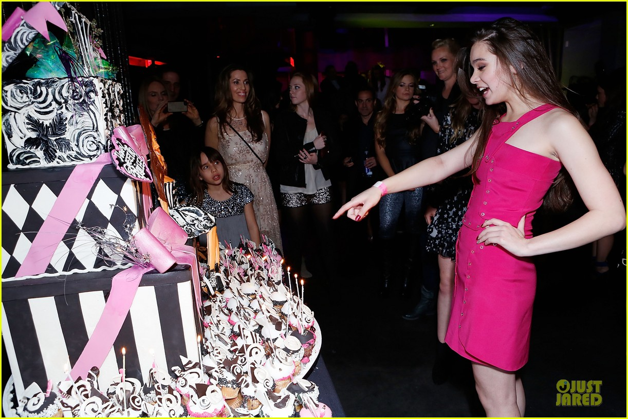 hailee steinfeld sweet 16 celebration 11