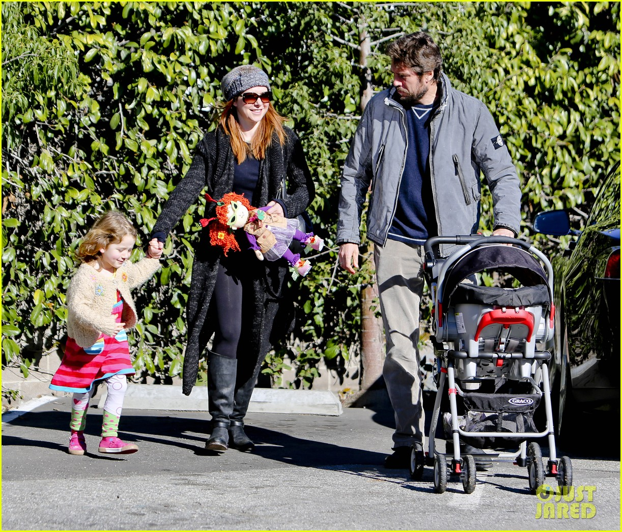 alyson hannigan family day out 122781583