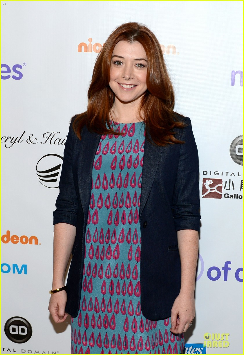 alyson hannigan & tom hanks march of dimes 2012 102771471