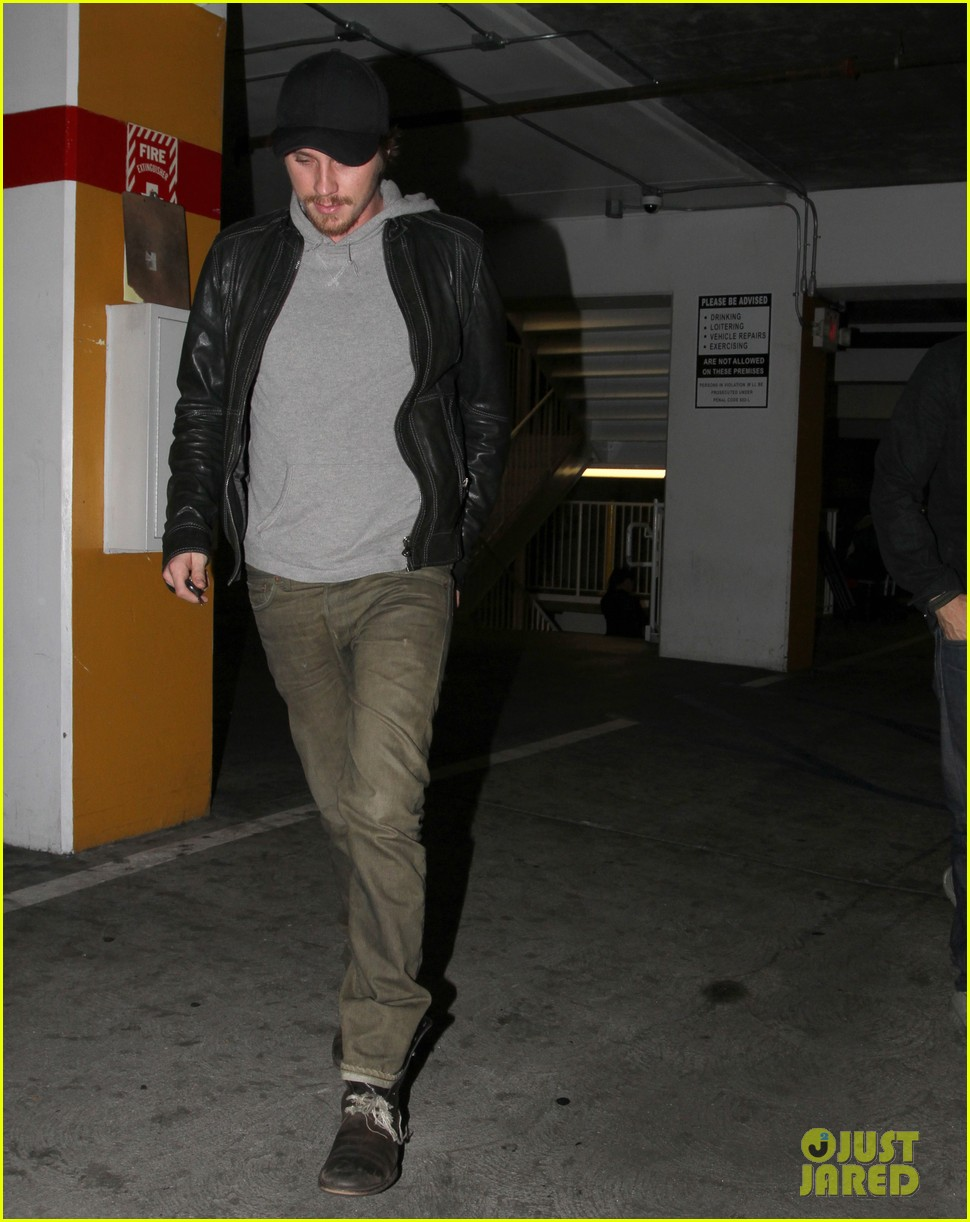 garrett hedlund arclight movie night 04