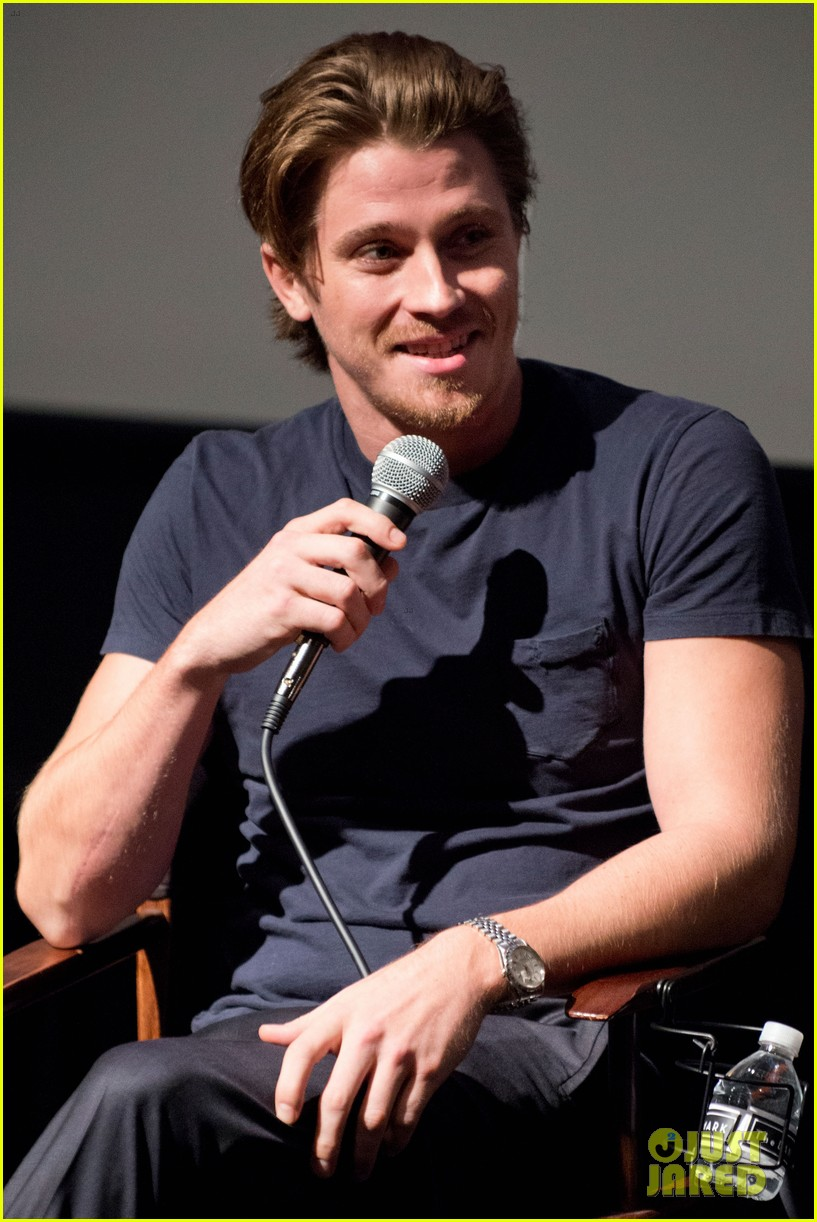 garrett hedlund on the road screening for the wrap 032770505
