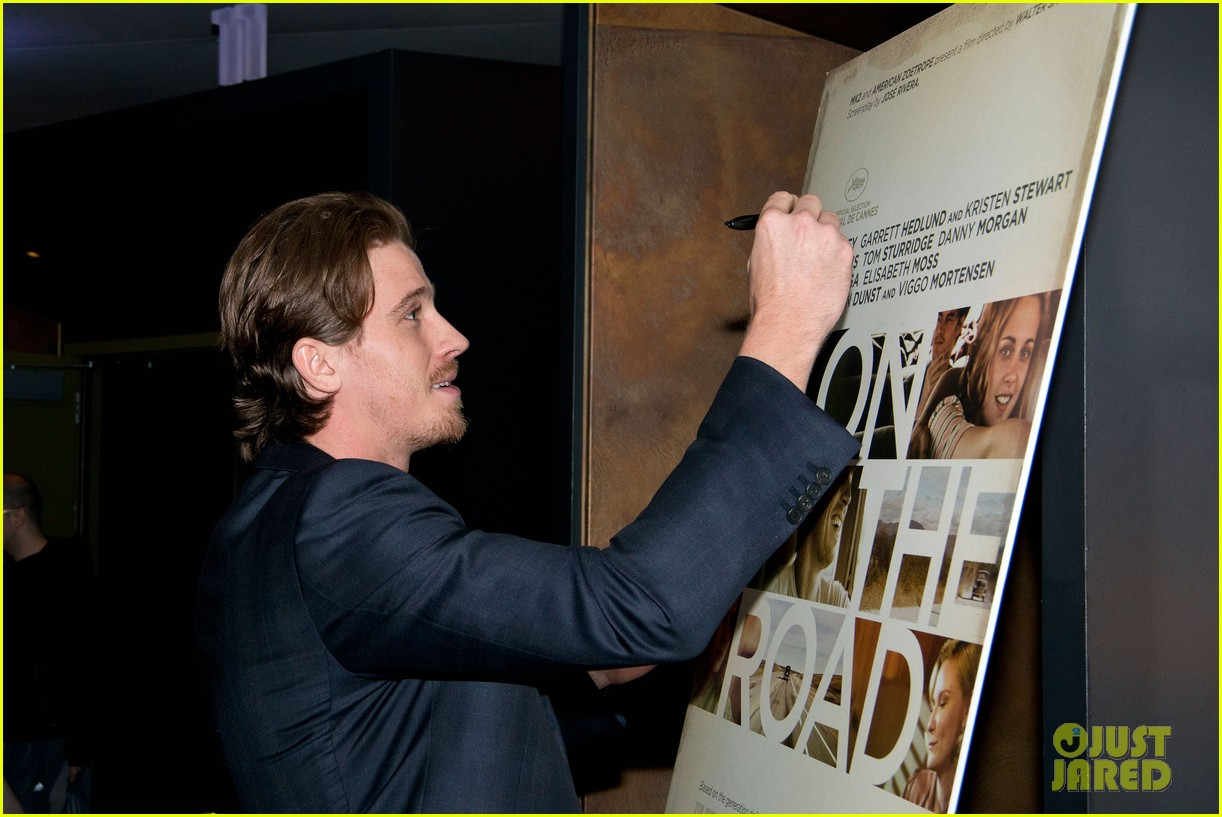 garrett hedlund on the road screening for the wrap 14