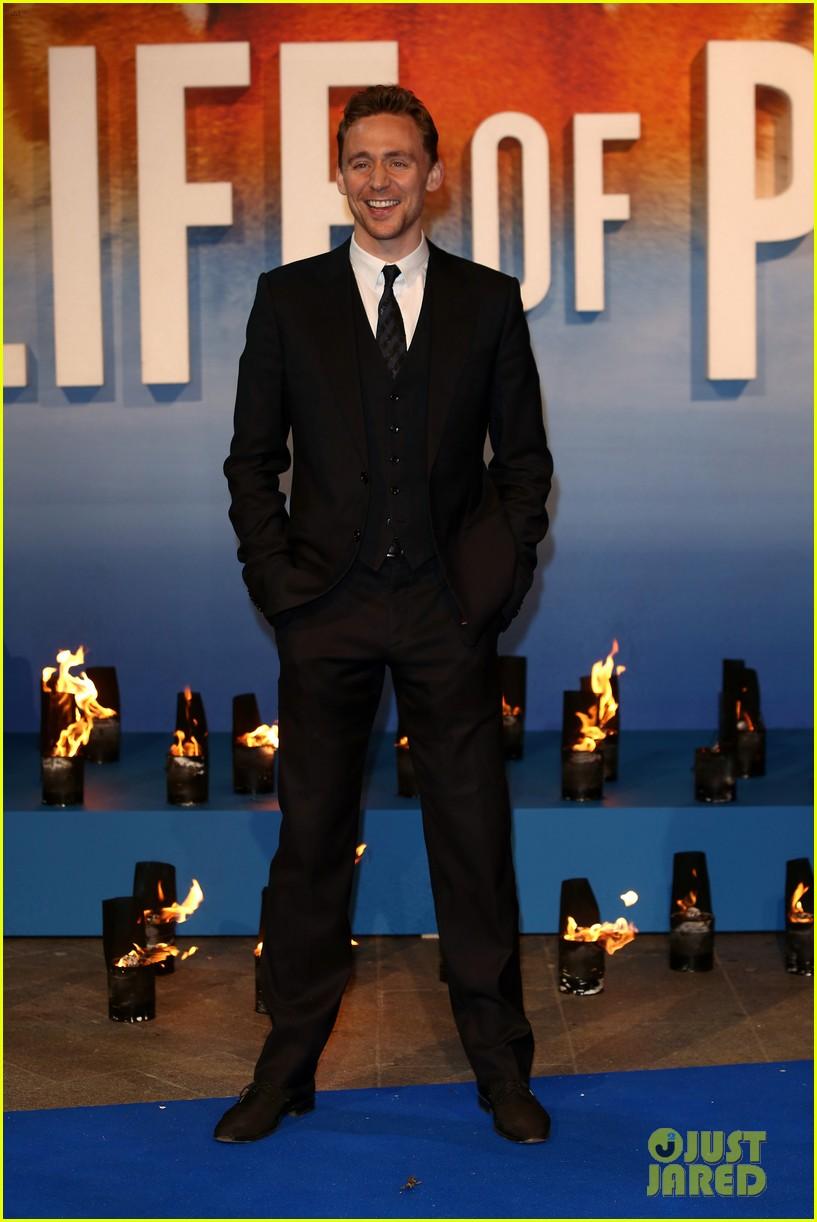 tom hiddleston suraj sharma life of pi uk premiere 142768626