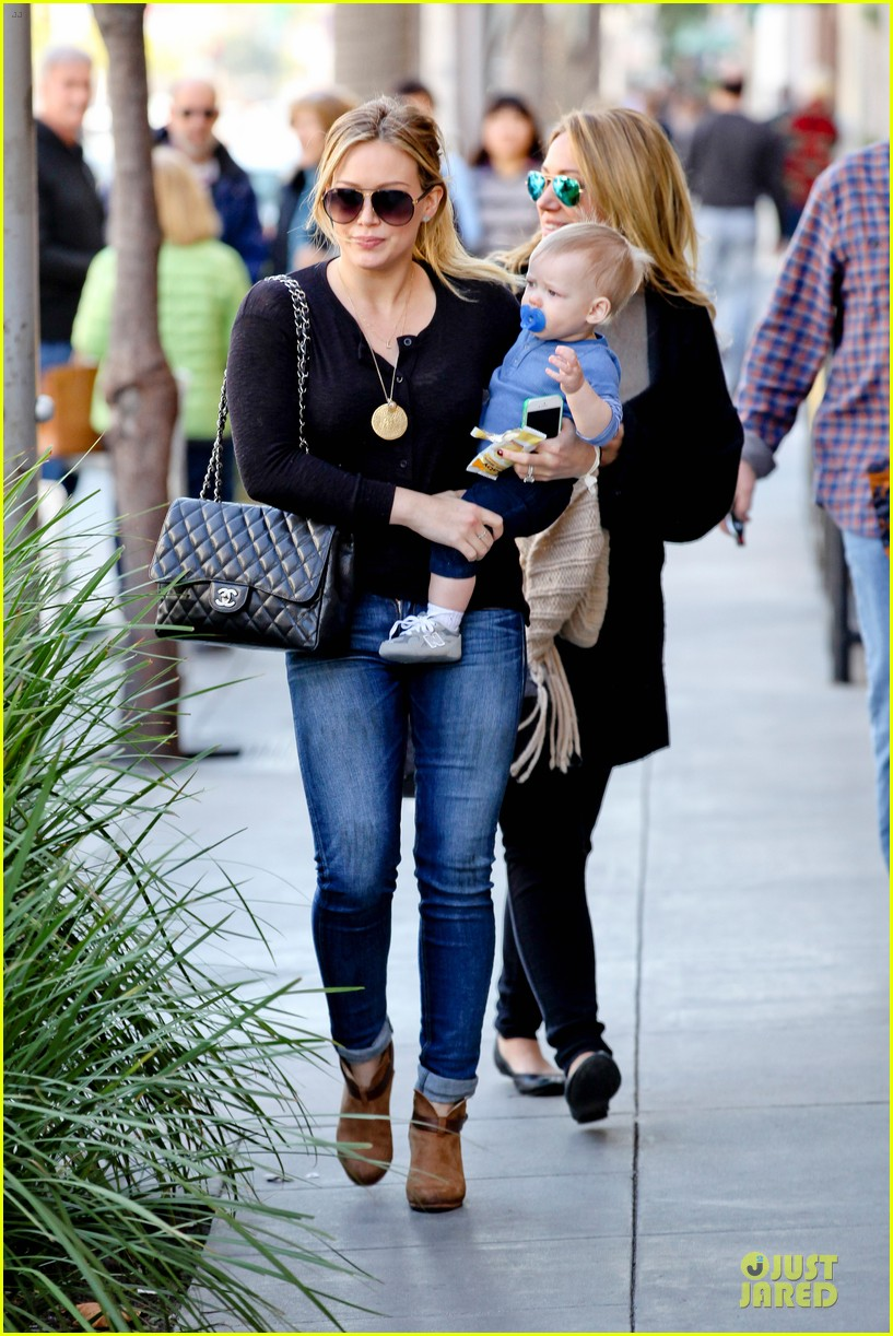 hilary duff & luca lunch with haylie 072779705