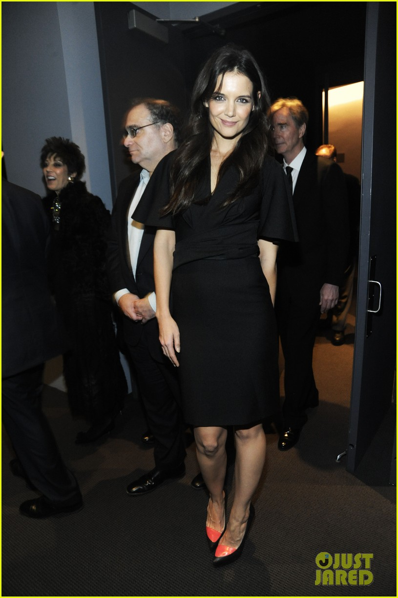 katie holmes honors quentin tarantino at the moma 022768877