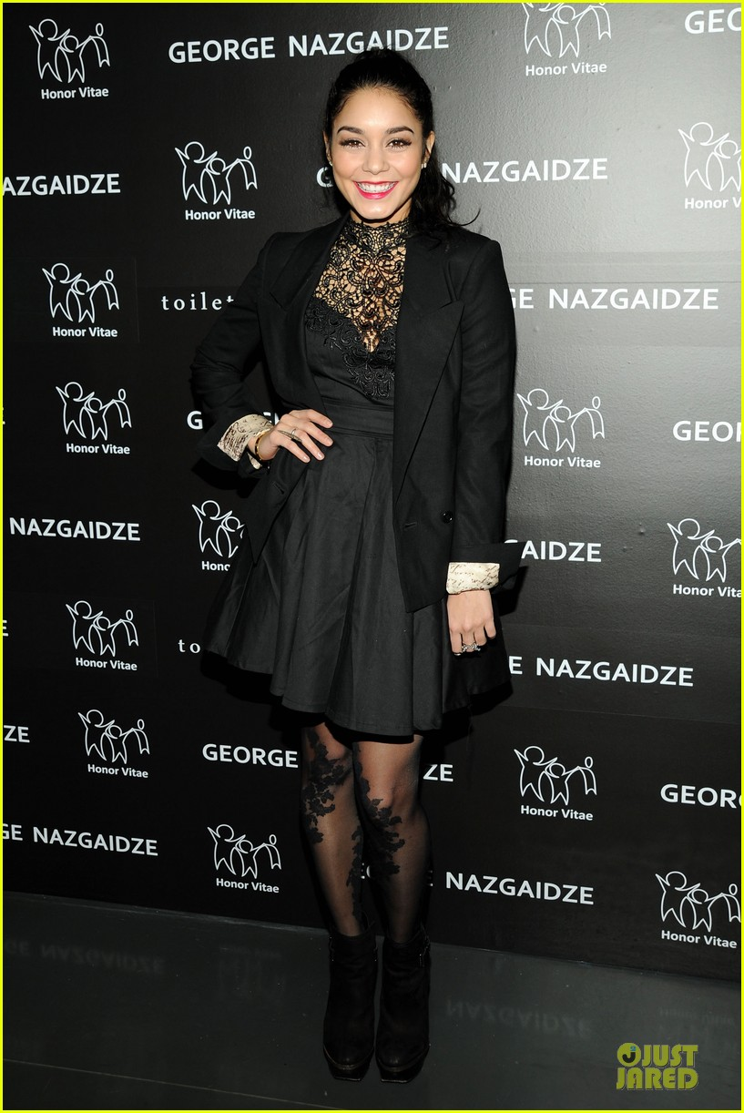 vanessa hudgens charity meets fashion holiday celebration 092777550