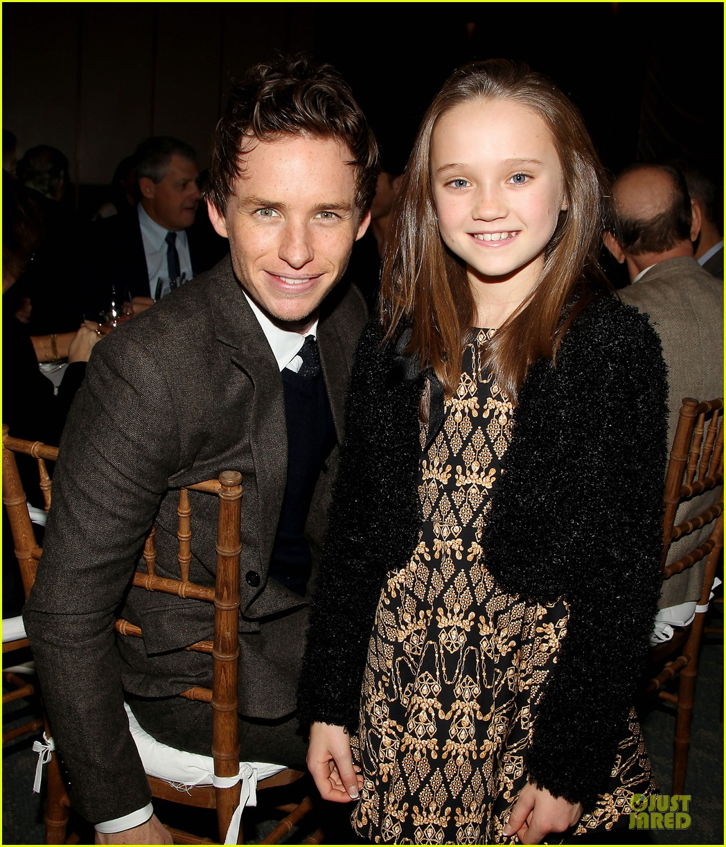 hugh jackman & eddie redmayne les miserables luncheon 272774025