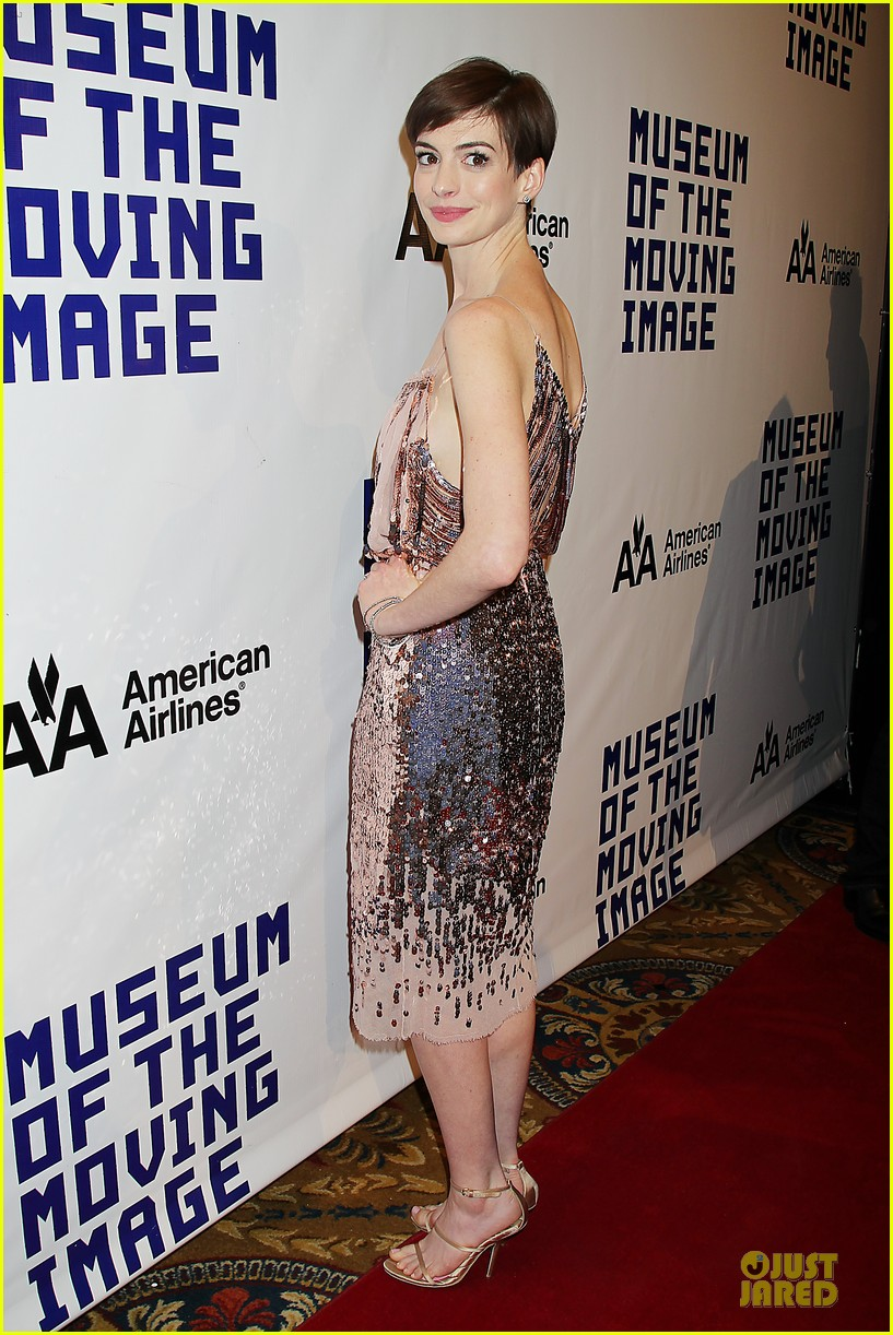anne hathaway & hugh jackman museum of moving images salute 302774147