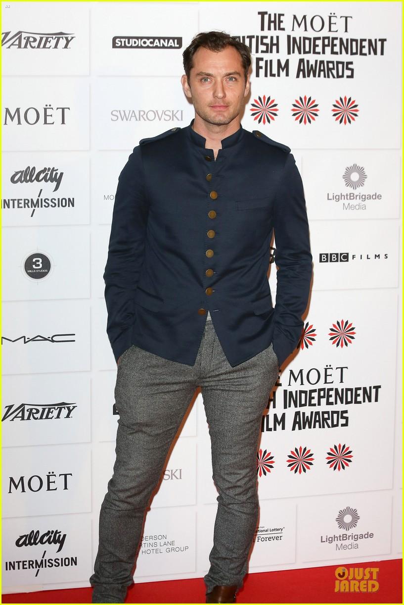 jude law & tom hiddleston british independent film awards 2012 072772462