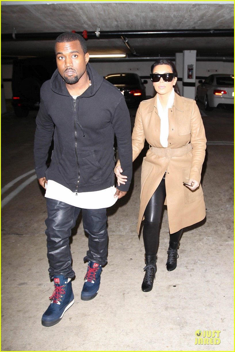 kim kardashian & kanye west beverly hills auctioning couple 06