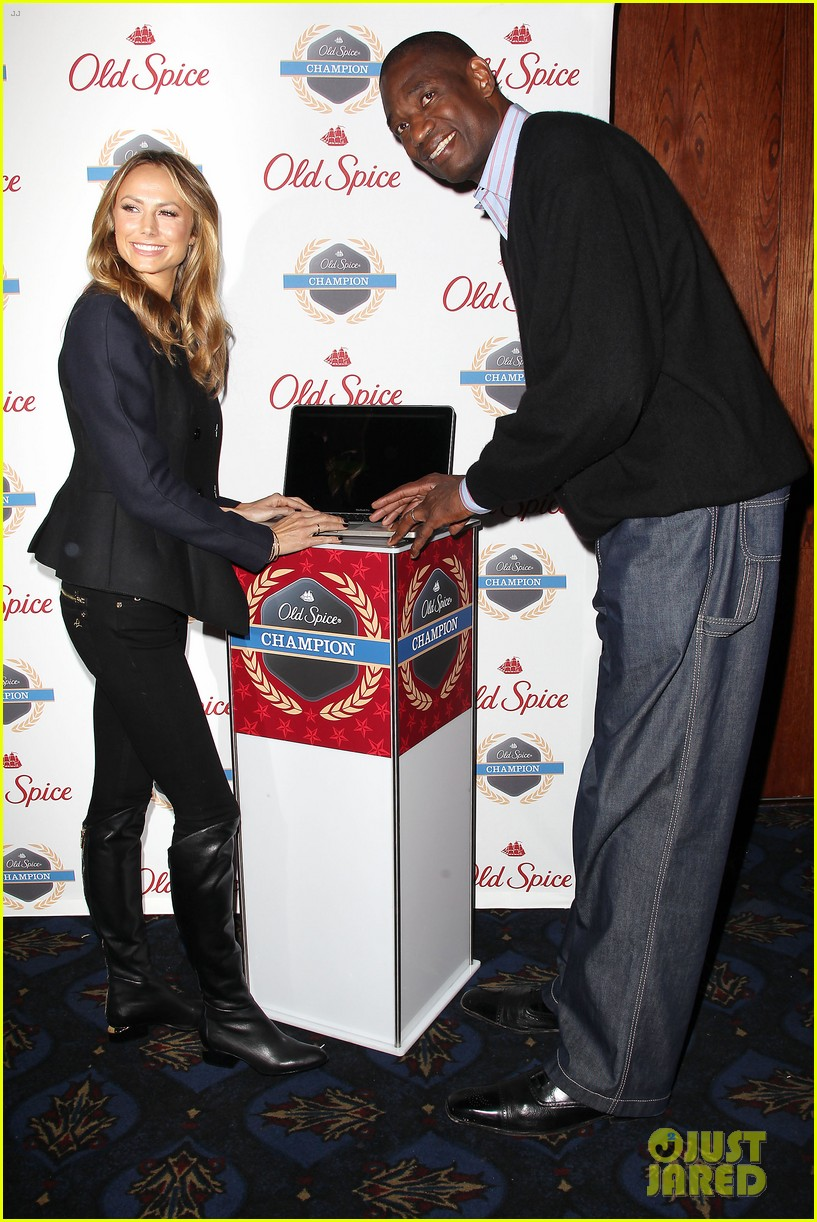 stacy keibler launches new old spice game 05