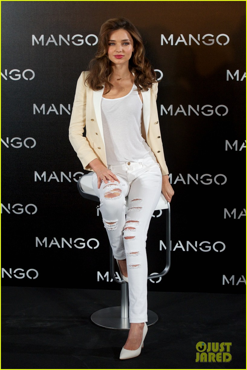 miranda kerr mango madrid photo call 06