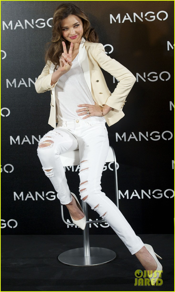 miranda kerr mango madrid photo call 10