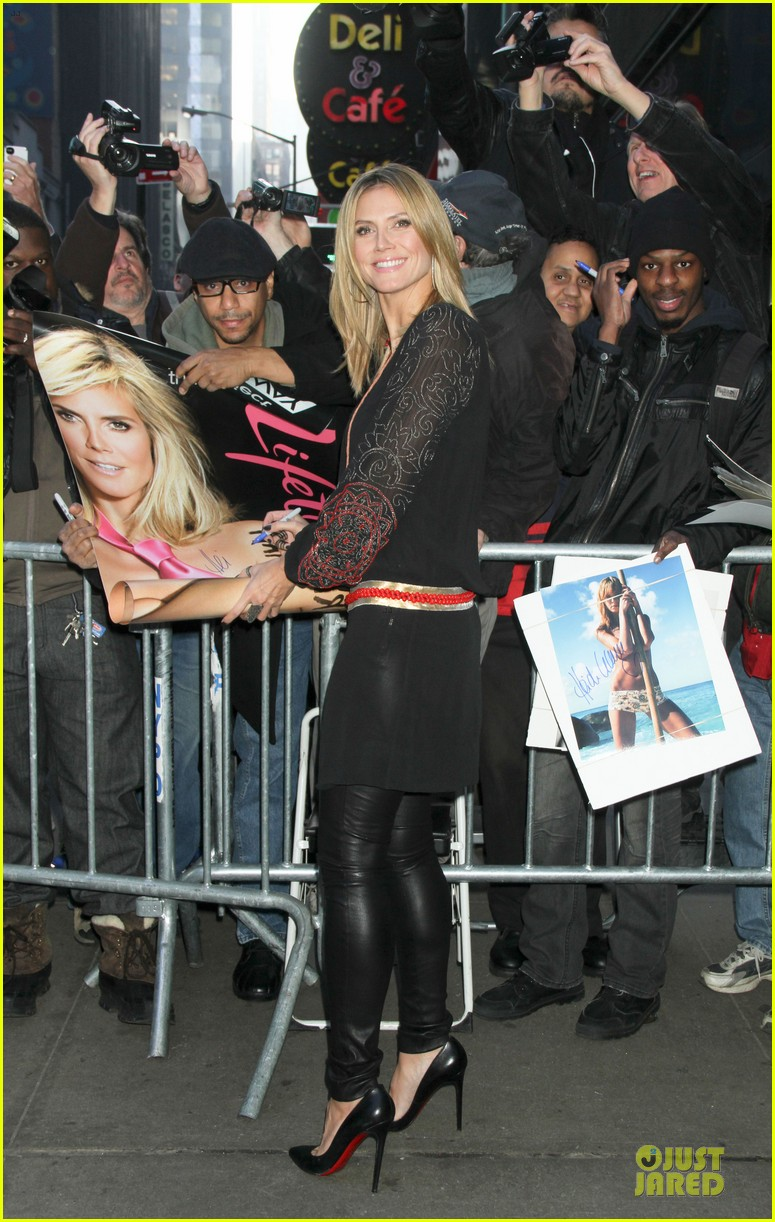 heidi klum good morning america appearance 03