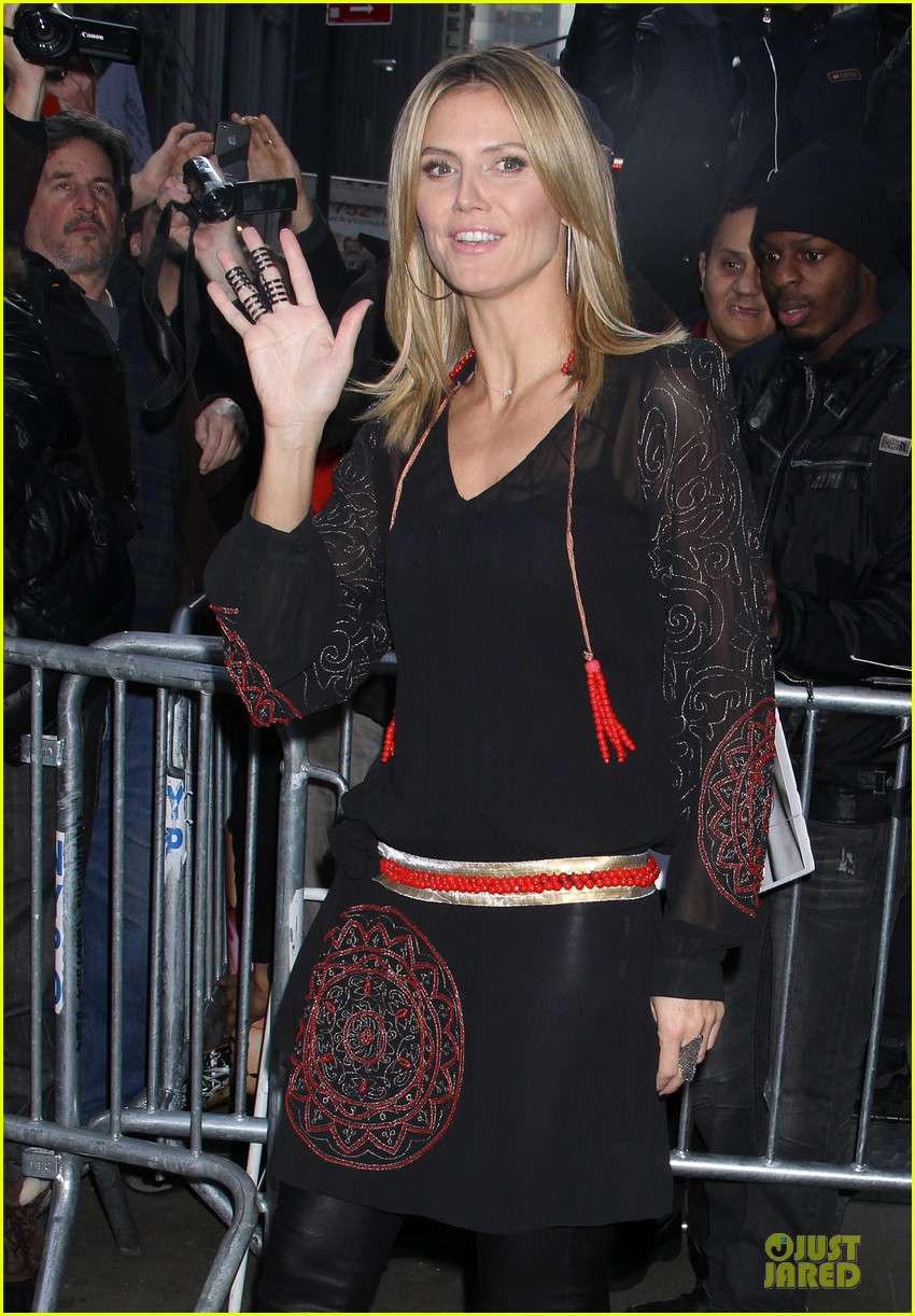 heidi klum good morning america appearance 10
