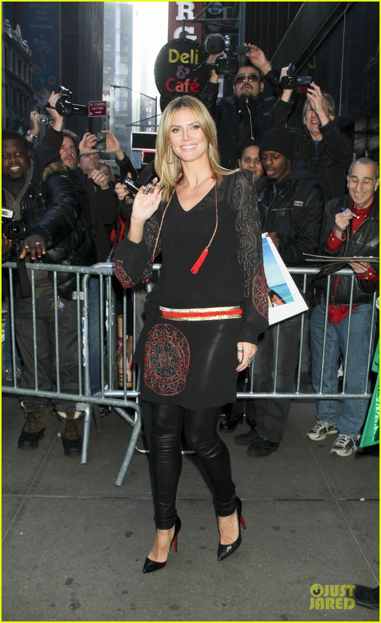 heidi klum good morning america appearance 12