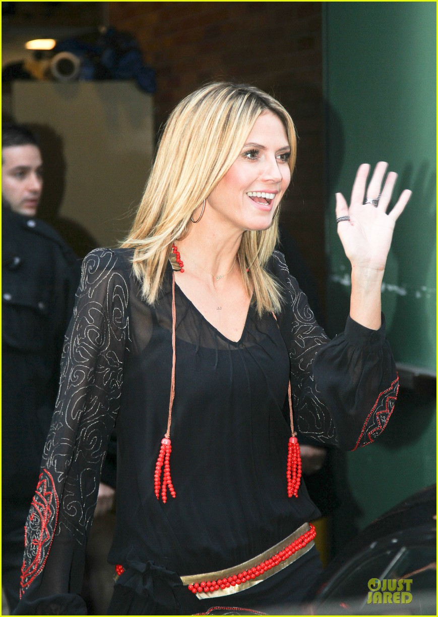 heidi klum good morning america appearance 132769247