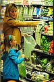 heidi klum martin kirsten grocery shopping with girls 41