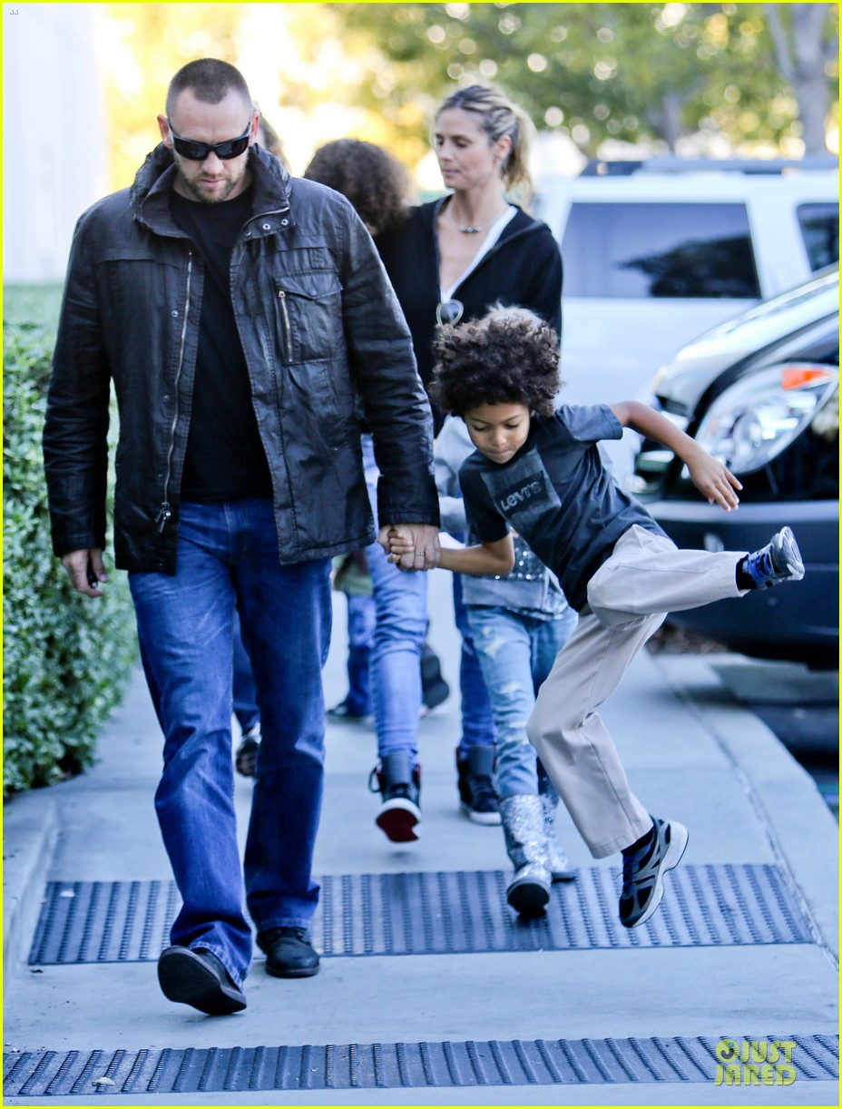 heidi klum martin kristen pretend city childrens museum with the kids 12