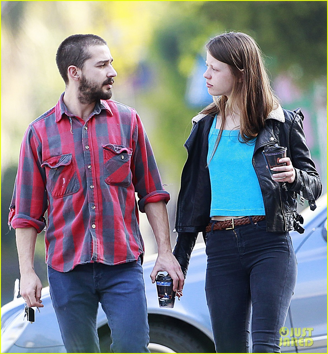 shia labeouf mia goth descanso gardens date 09