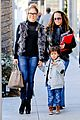 jennifer lopez casper smart beverly hills shopping with the kids 20