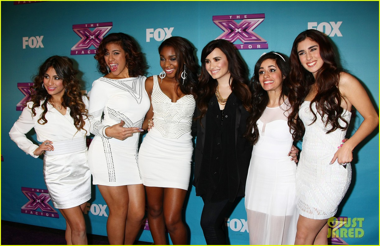 demi lovato fifth harmony x factor finale party 13