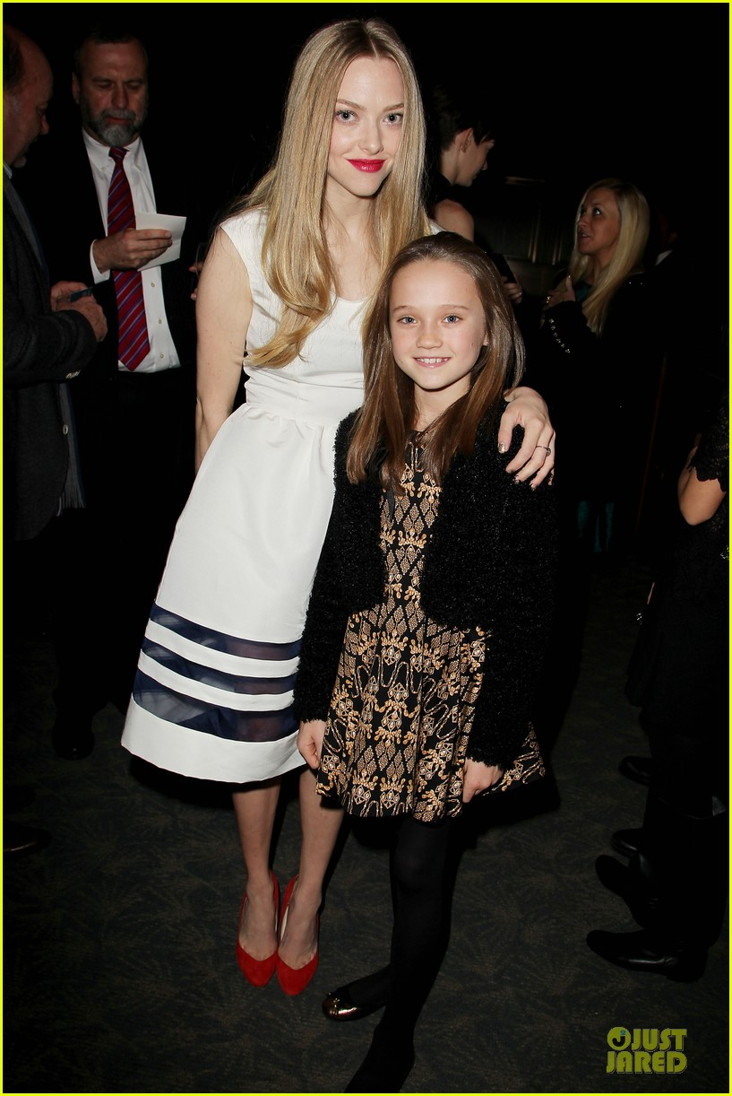 anne hathaway & amanda seyfriend les miserables luncheon 052773977