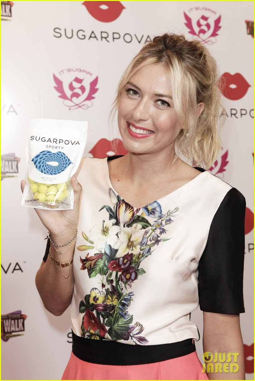 maria sharapova sugarpova candy launch 062775971