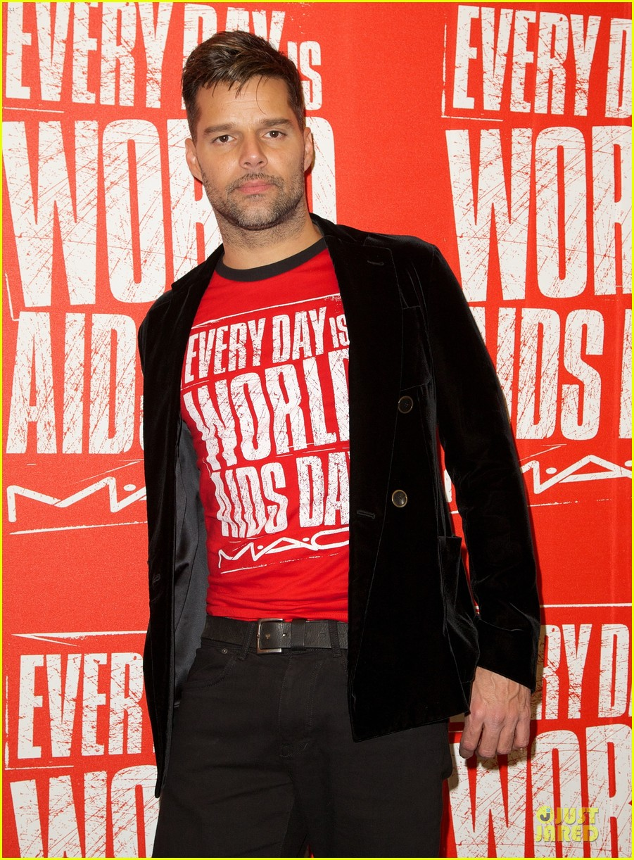 ricky martin world aids day event 13